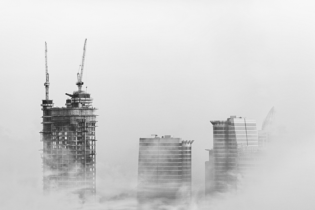 Sky Scrapers being built
